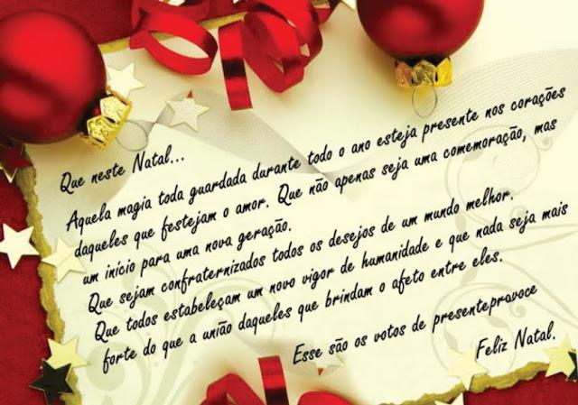 Mensagens de Natal de Natal e Ano Novo para Amigos