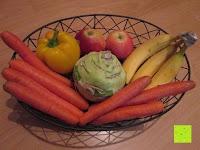 Obst und Gemüse: khevga Obstschale Landhaus aus Metall