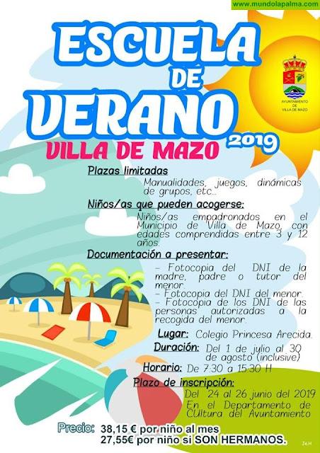 Escuela de Verano 2019 en Villa de Mazo