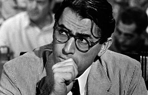 atticus finch throughout to help ruin a mocking bird