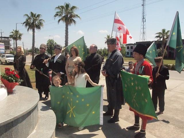 Черкесы 21 мая отметили в Грузии День памяти и скорби