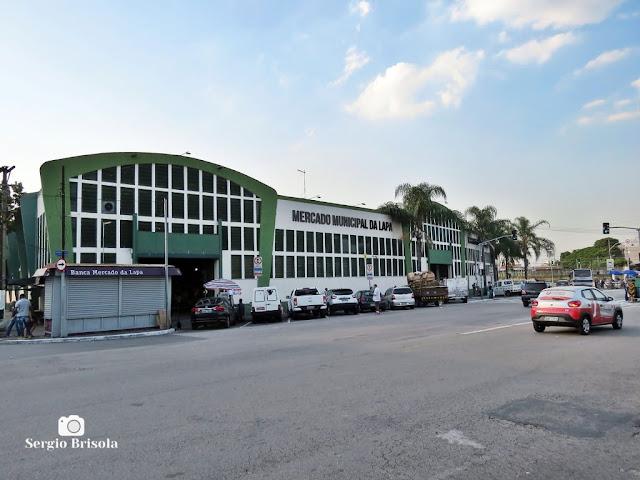 Vista ampla do Mercado Municipal da Lapa - Lapa - São Paulo