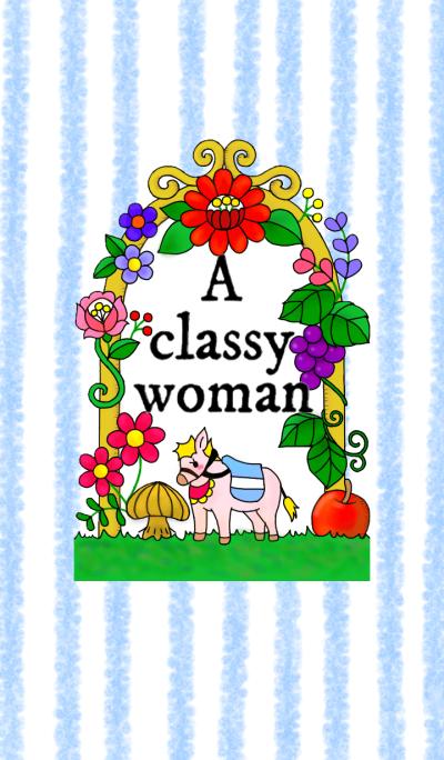 A classy woman. No1