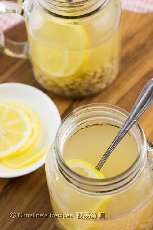 檸檬薏米水 Lemon Job's Tears Drink04
