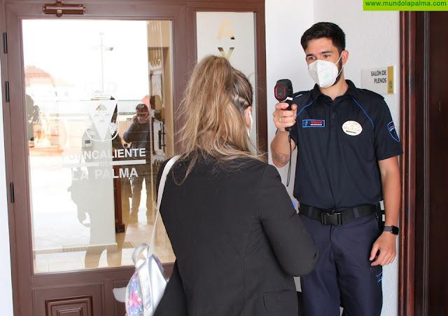 El Ayuntamiento de Fuencaliente abre sus puertas garantizando la seguridad de los trabajadores y ciudadanos