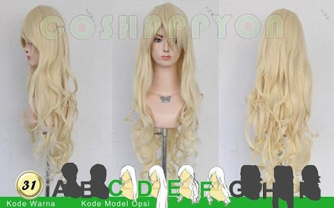 [REVIEW]  Coshappyon Wig In Beige