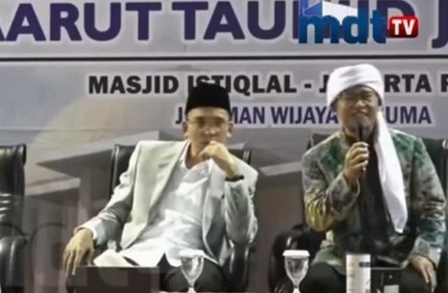 Cara Elegan Aa Gym Menasihati TGB Yang Dukung Jokowi 2 Periode