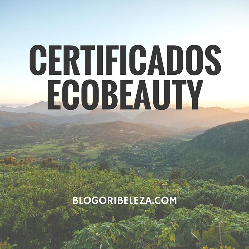 Certificados Ecobeauty