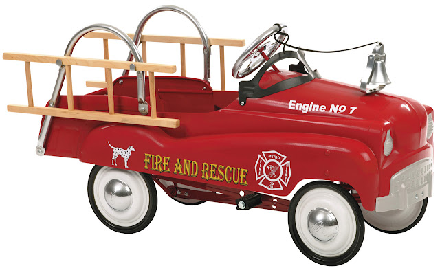 This awesome InStep Fire Truck Pedal Car is durable, comes equipped with ladders and a bell, and your future firefighter will be thrilled to own it. Here's my review.