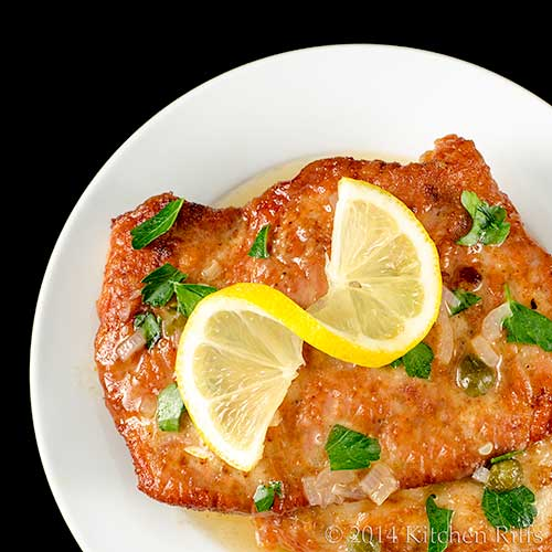 Turkey (or Chicken) Piccata