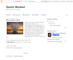 Denim Washed Theme