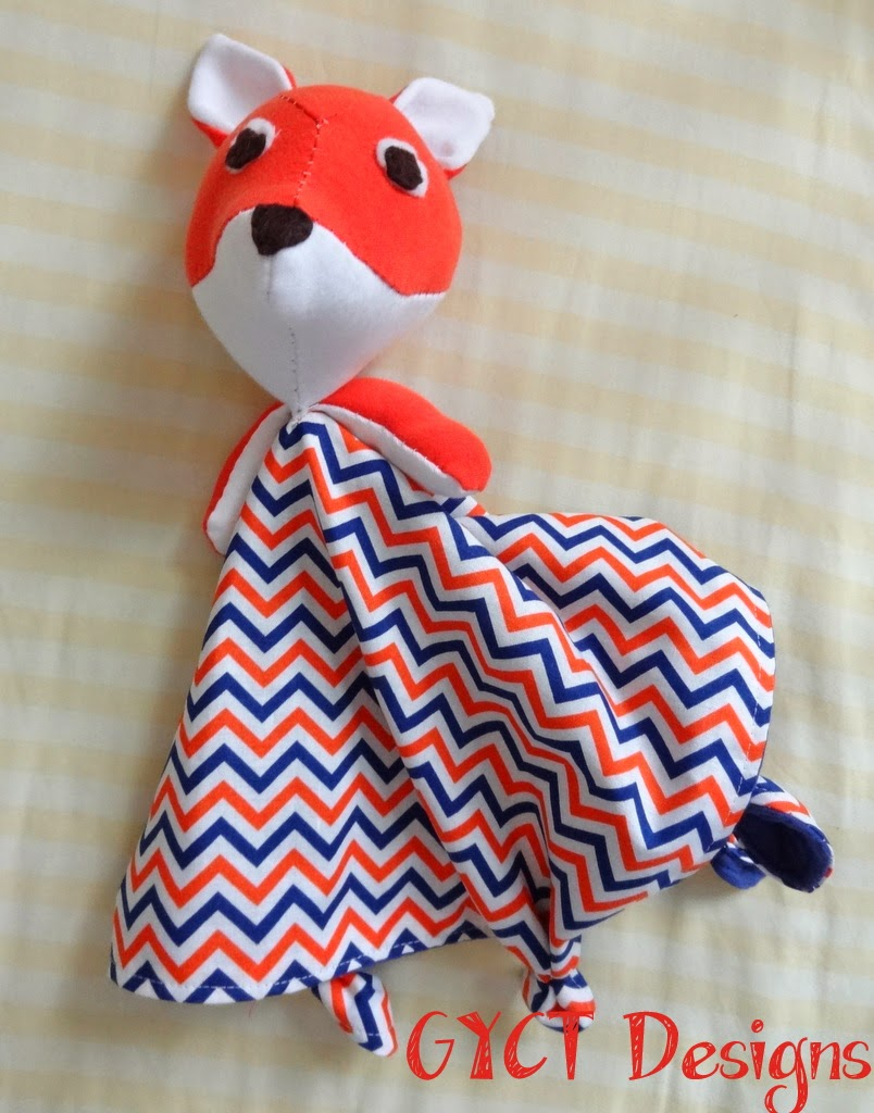 Fox Lovey Pattern from Tangible Pursuits by GYCT Designs