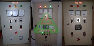 melayani pembuatan dan service panel otomatis genset