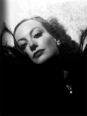 Glamour shot of Joan Crawford