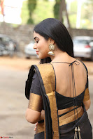 Poorna in Cute Backless Choli Saree Stunning Beauty at Avantika Movie platinum Disc Function ~  Exclusive 052.JPG