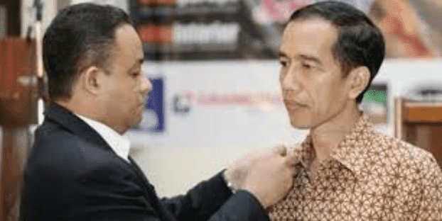 Duet Jokowidodo-Anies Baswedan Oleh Pilgres 2019