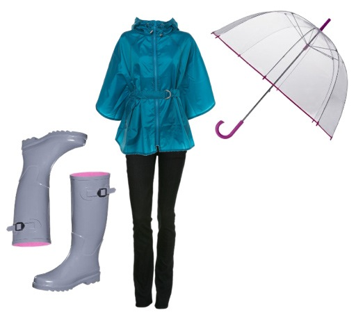 Cute Rainy Day: Bella Vita: What To Wear On A Rainy Day