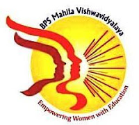 BPS Mahila Vishwavidyalaya Recruitment