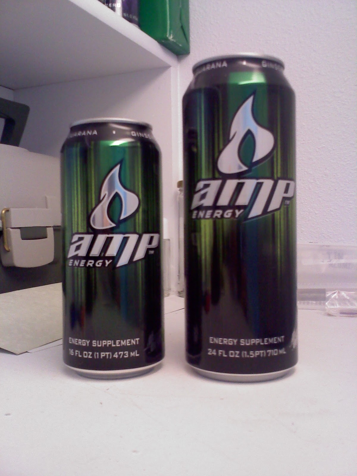 Caffeine Review For Amp Energy