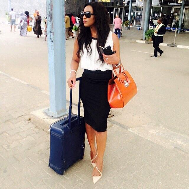 genevieve nnaji returns nigeria