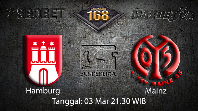 BOLA88 - PREDIKSI TARUHAN BOLA HAMBURG VS MAINZ 03 MARET 2018 ( GERMAN BUNDESLIGA )