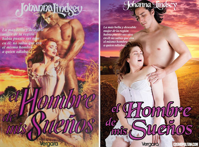 Top 10 Book Covers of Romance Novels, Recreated By Real People