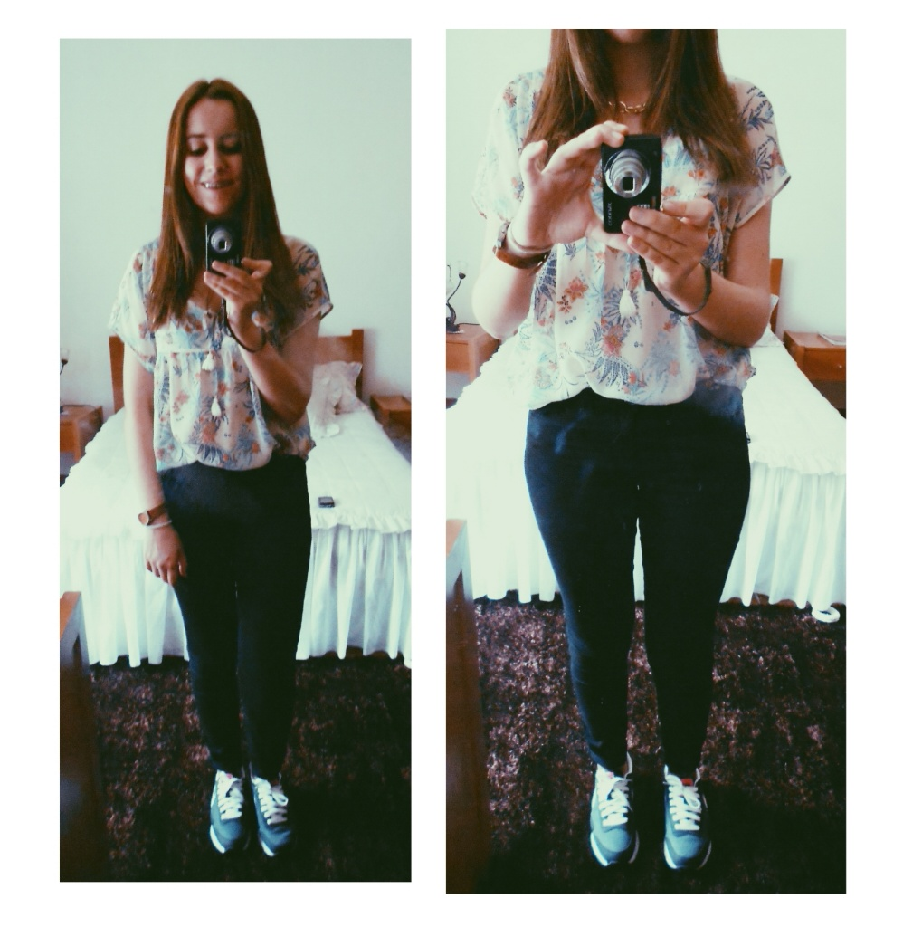 outfit | Flowers on my mind