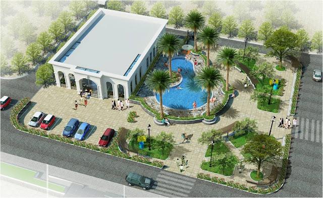 Phối cảnh khuôn viên dự án Eco City