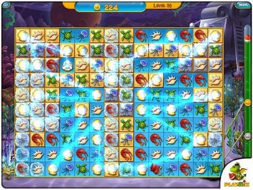 لعبة السمك فيشدوم Fishdom 3 للكمبيوتر