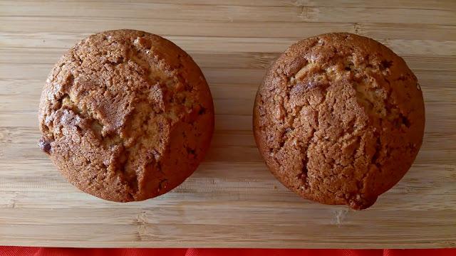 muffin turron jijona xixona aprovechamiento desayuno merienda postre facil rico magdalena
