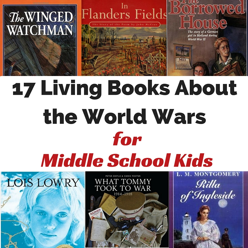 17 living books to teach kids about the world wars