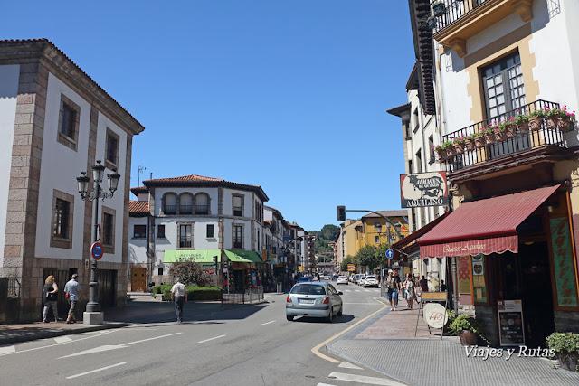 Calles de Cangas de Onís, Asturias