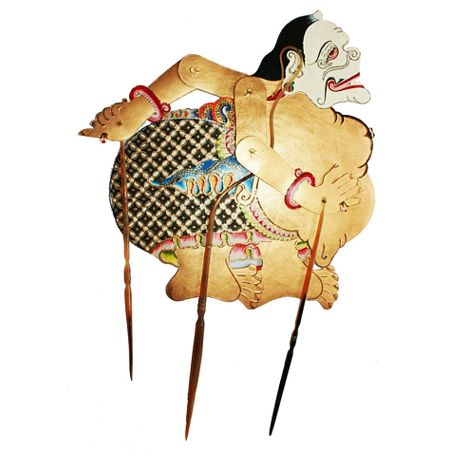 Semar Indonesian Shadow Puppets Wayang Kulit With