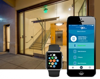 Tyco presenta EntraPass Go Pass para Apple Watch