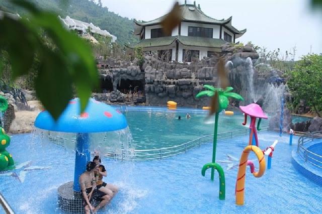 Khám phá công viên suối khoáng nóng Núi Thần Tài