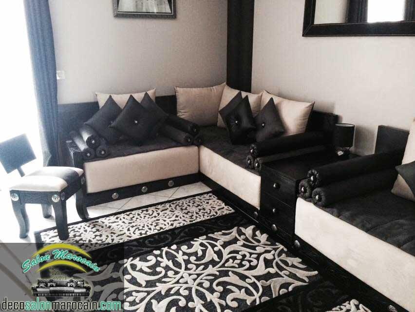boutique salon marocain 2018 2019 conception salon marocain. Black Bedroom Furniture Sets. Home Design Ideas