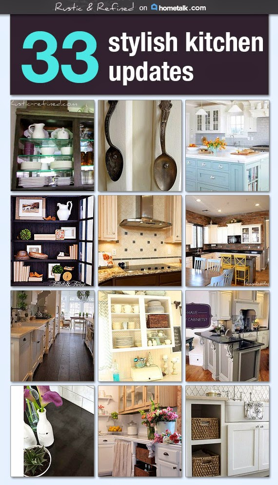 Hometalk Kitchen Board by Rustic-Refined.com