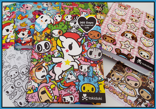 The new Tokidoki range at GMC Group distribution