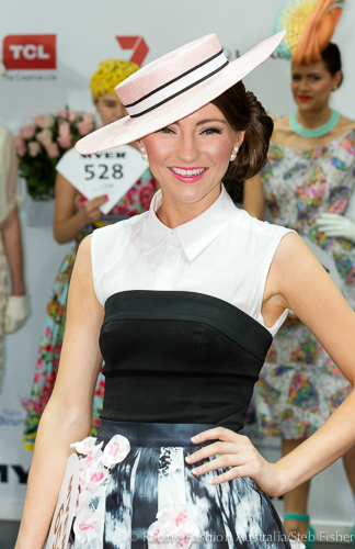 Racing Fashions Favourite Hats from Oaks Day 2014 Melbourne Spring Racing  Carnival fd15b459b3f