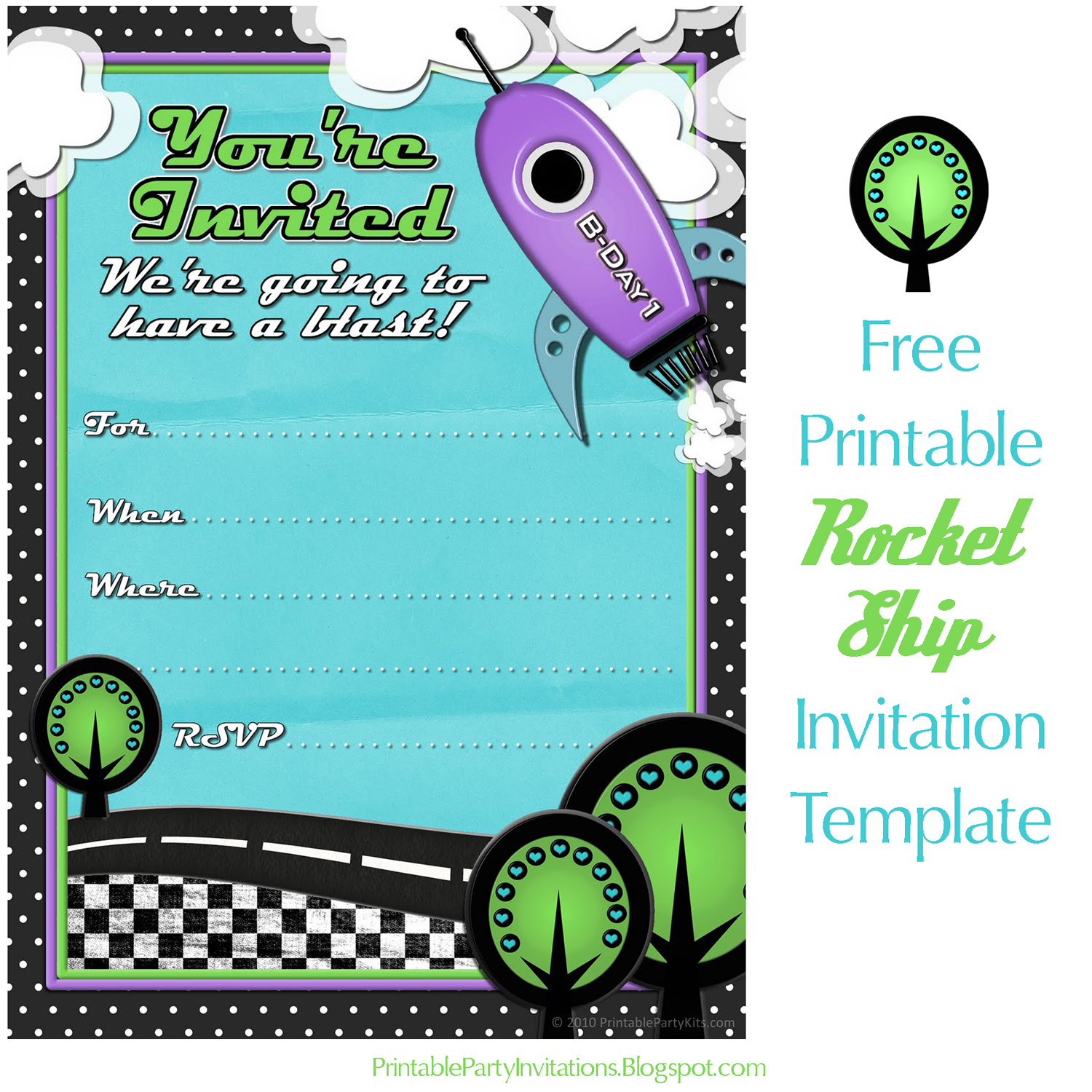 photograph relating to Free Printable Boy Birthday Invitations known as Cant come across subsution for tag [write-up.entire body]--\u003e Rocket Mail