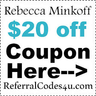 Rebecca Minkoff Coupon Code 2017, Rebecca Minkoff $20 off Code January, February, March, April