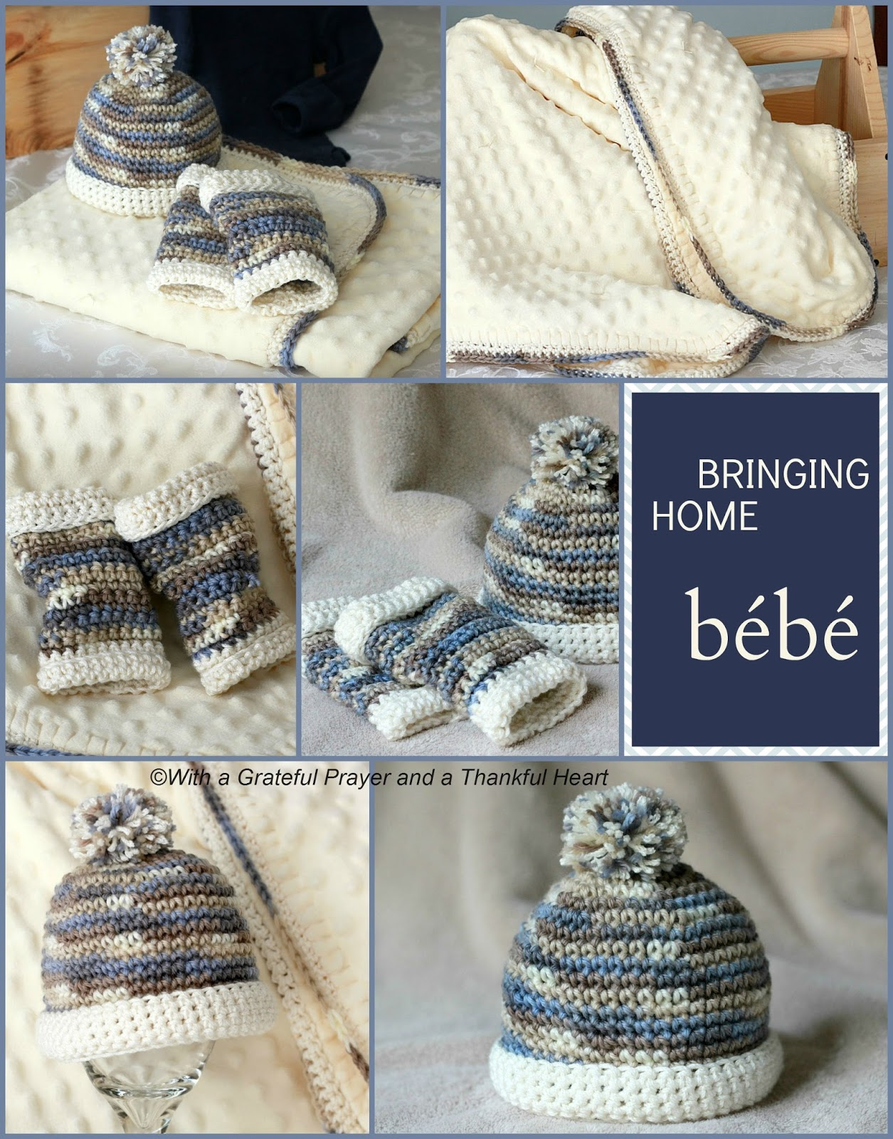Crochet pattern infant baby boy leg warmers with matching beanie hat. Baby  blanket with matching a23e87b57ea