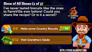 FV2CE, Country Biscuits, Glade, Cowboy