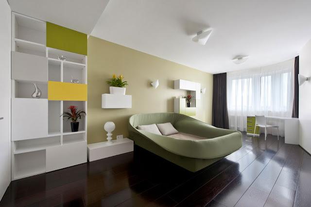 Kamar Tidur Rumah Modern Minimalis