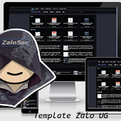 Share Template Zalo UG Responsive For Blogger