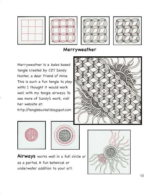 sample page from Tangle Starts Strings, Alice Hendon, The Creator's Leaf