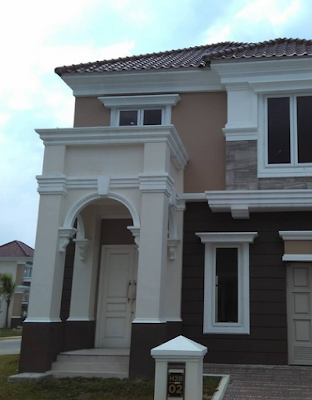 desain tiang rumah mewah