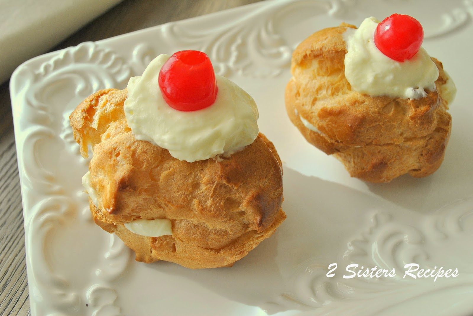 ... Recipes... by Anna and Liz: Italian Cream Puffs for St. Joseph's Day