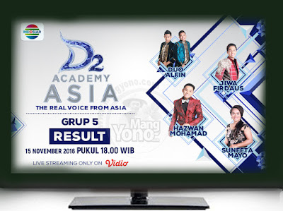 D'Academy Asia 2 ( D'AA 2) Babak 24 Besar Grup 5