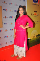 Sree Mukhi in Pink Kurti looks beautiful at Meet and Greet Session at Max Store (20).JPG